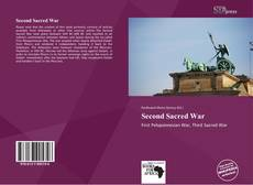 Portada del libro de Second Sacred War