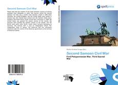 Bookcover of Second Samoan Civil War