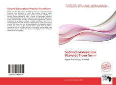 Couverture de Second Generation Wavelet Transform