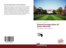 Bookcover of Second Inauguration of James Monroe