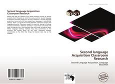 Second language Acquisition Classroom Research的封面