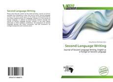Обложка Second Language Writing