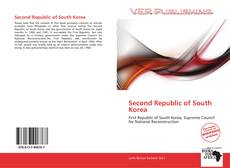 Capa do livro de Second Republic of South Korea