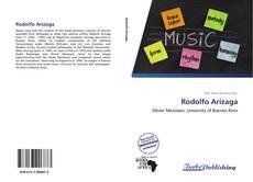 Capa do livro de Rodolfo Arízaga