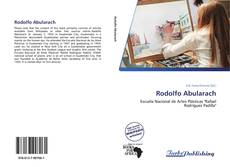 Capa do livro de Rodolfo Abularach
