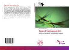 Second Succession Act的封面
