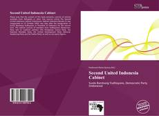Bookcover of Second United Indonesia Cabinet