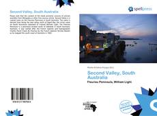 Buchcover von Second Valley, South Australia