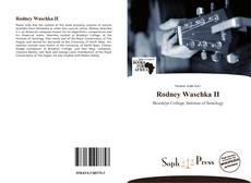 Copertina di Rodney Waschka II
