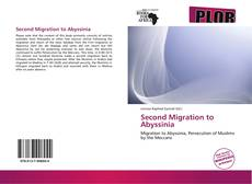Bookcover of Second Migration to Abyssinia