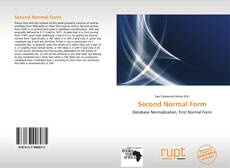 Bookcover of Second Normal Form