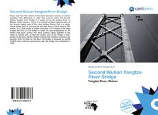 Bookcover of Second Wuhan Yangtze River Bridge