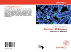 Bookcover of Secondary Metabolism