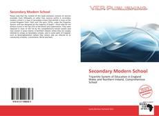 Secondary Modern School kitap kapağı