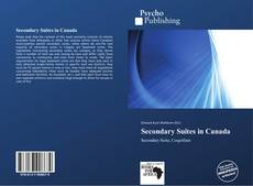 Bookcover of Secondary Suites in Canada