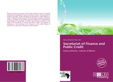 Bookcover of Secretariat of Finance and Public Credit