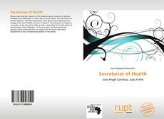 Bookcover of Secretariat of Health