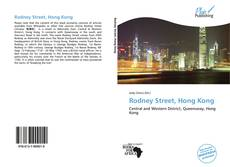 Capa do livro de Rodney Street, Hong Kong
