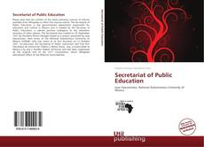 Portada del libro de Secretariat of Public Education