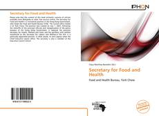 Обложка Secretary for Food and Health