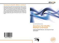 Обложка Secretary for Health, Welfare and Food
