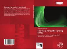 Bookcover of Secretary for Justice (Hong Kong)