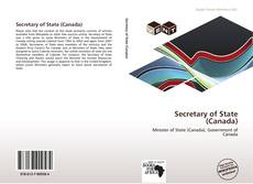 Capa do livro de Secretary of State (Canada)