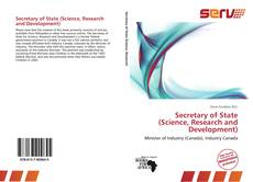 Обложка Secretary of State (Science, Research and Development)