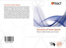 Обложка Secretary of State (Sport)