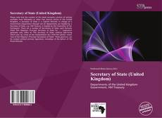 Buchcover von Secretary of State (United Kingdom)