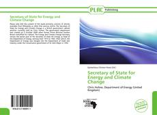 Bookcover of Secretary of State for Energy and Climate Change