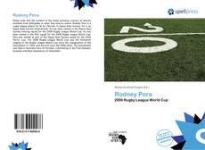 Bookcover of Rodney Pora