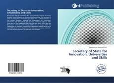 Обложка Secretary of State for Innovation, Universities and Skills