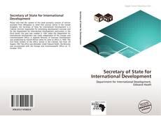 Buchcover von Secretary of State for International Development