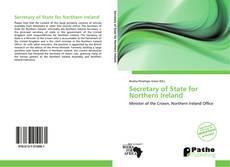 Secretary of State for Northern Ireland kitap kapağı