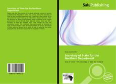 Bookcover of Secretary of State for the Northern Department