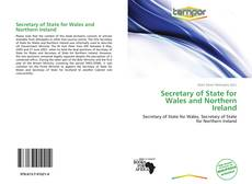 Bookcover of Secretary of State for Wales and Northern Ireland