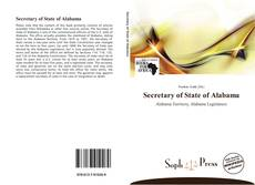 Couverture de Secretary of State of Alabama