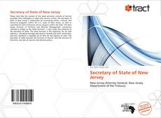 Bookcover of Secretary of State of New Jersey