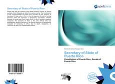 Secretary of State of Puerto Rico的封面
