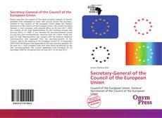 Secretary-General of the Council of the European Union的封面
