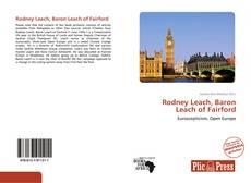 Borítókép a  Rodney Leach, Baron Leach of Fairford - hoz