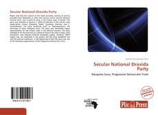 Buchcover von Secular National Dravida Party