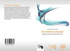 Обложка Secundative Language