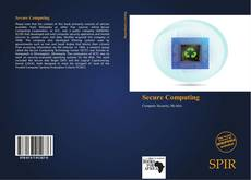 Bookcover of Secure Computing