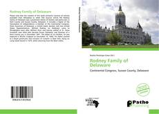 Bookcover of Rodney Family of Delaware