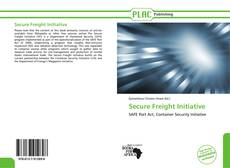 Bookcover of Secure Freight Initiative