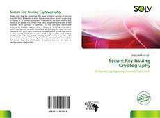 Bookcover of Secure Key Issuing Cryptography