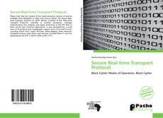 Bookcover of Secure Real-time Transport Protocol