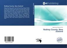 Buchcover von Rodney County, New Zealand